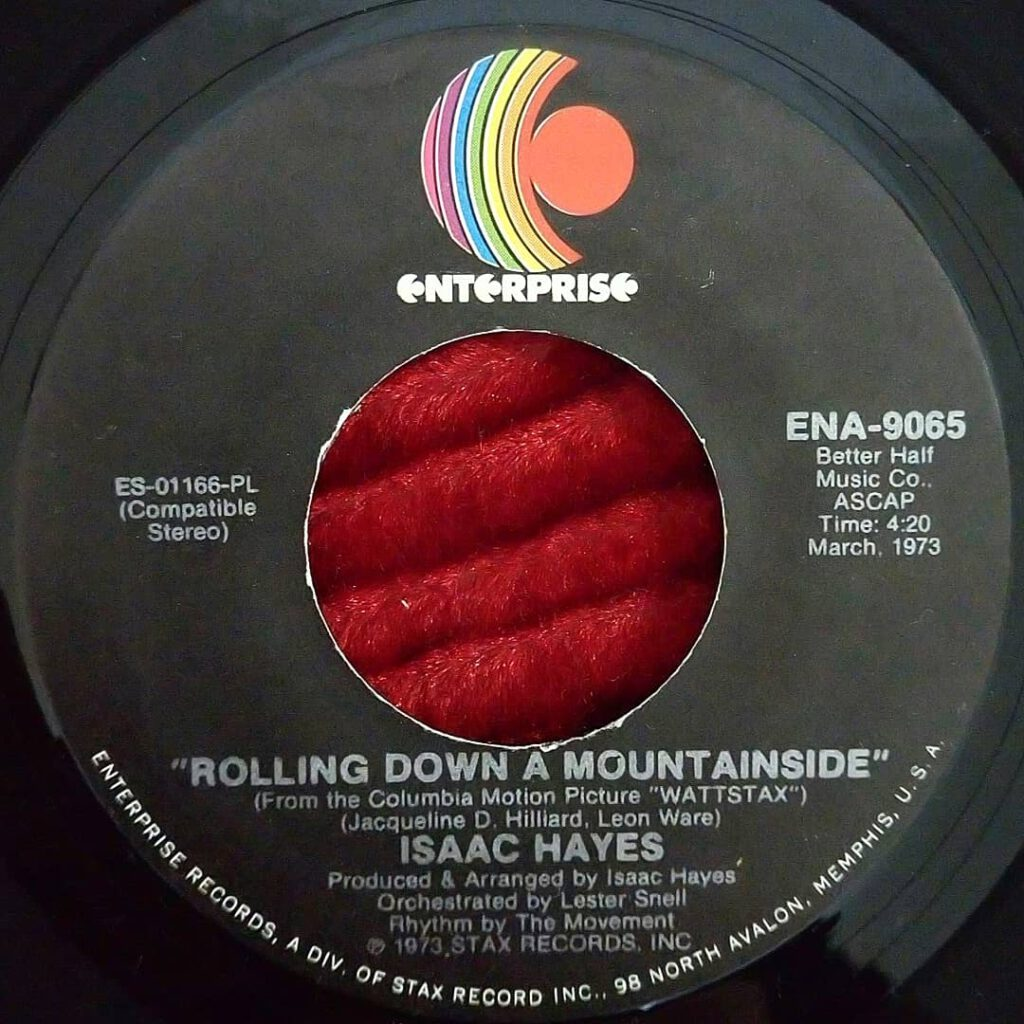Isaac Hayes - Rolling Down A Mountainside ⋆ Florian Keller - Funk Related