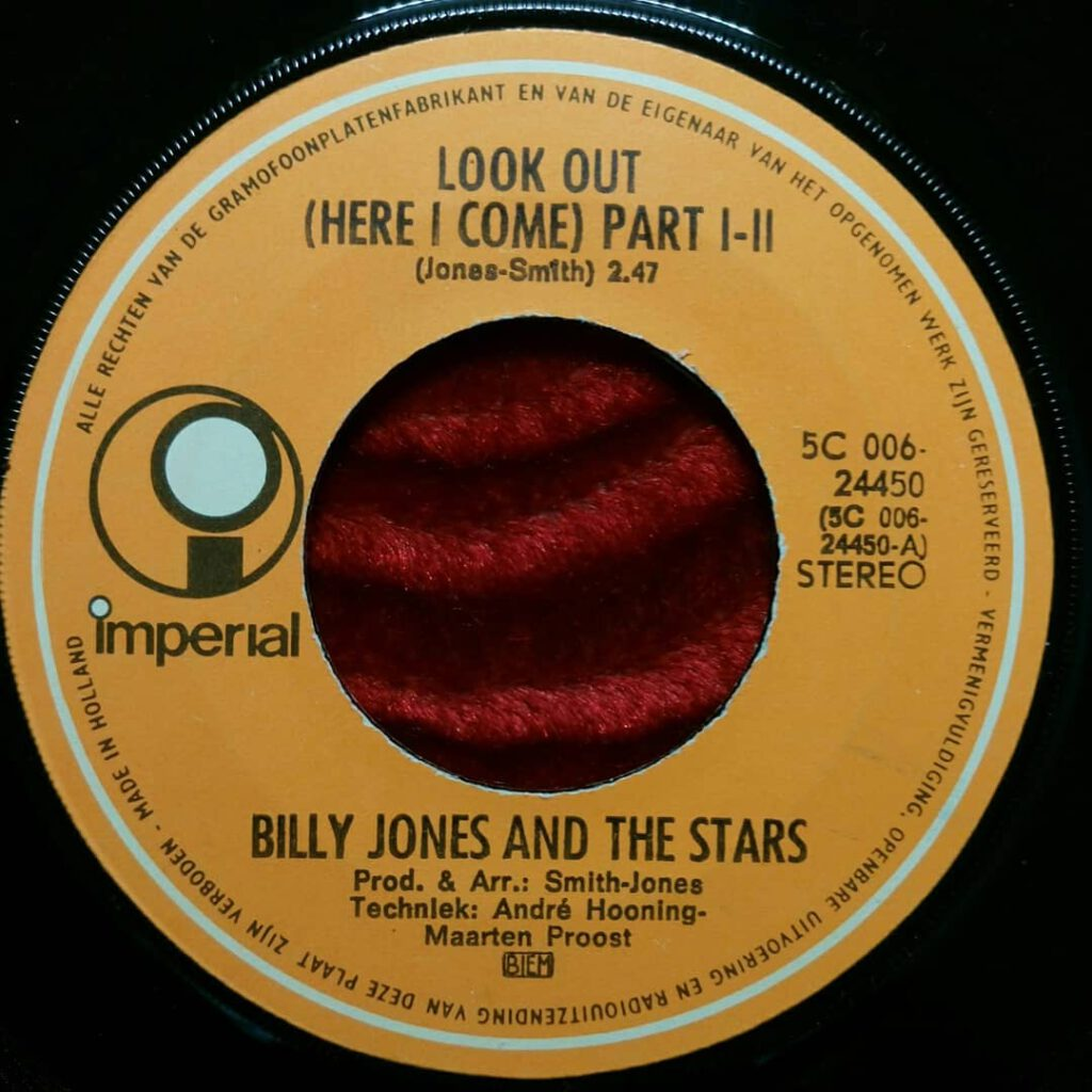 Billy Jones And The Stars - Look Out (Here I Come) ⋆ Florian Keller - Funk Related
