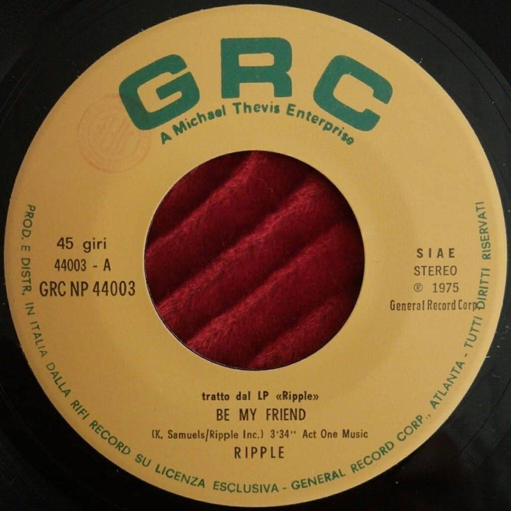 Ripple - Be My Friend ⋆ Florian Keller - Funk Related