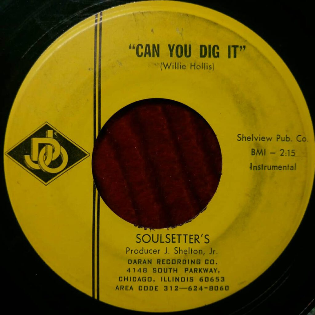 Soulsetter's – Can You Dig It ⋆ Florian Keller - Funk Related