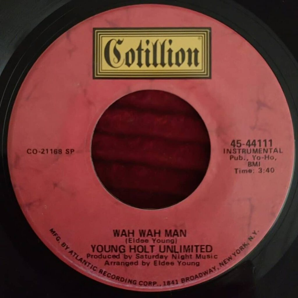 Young Holt Unlimited - Wah Wah Man ⋆ Florian Keller - Funk Related