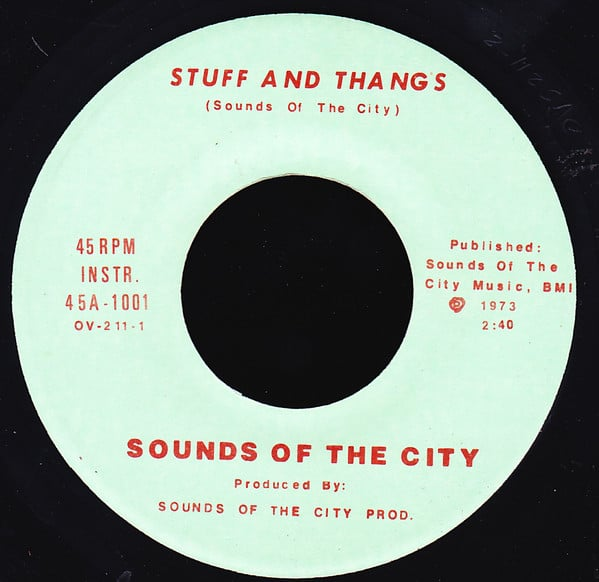 Sounds Of The City - Stuff And Thangs ⋆ Florian Keller - Funk Related